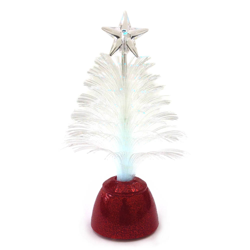 ミニバディー ファイバーツリー レッド <クリスマス>