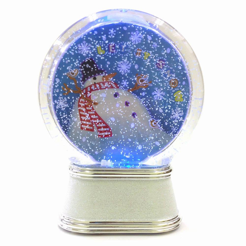 LEDスノープレート スノーマン <クリスマス>