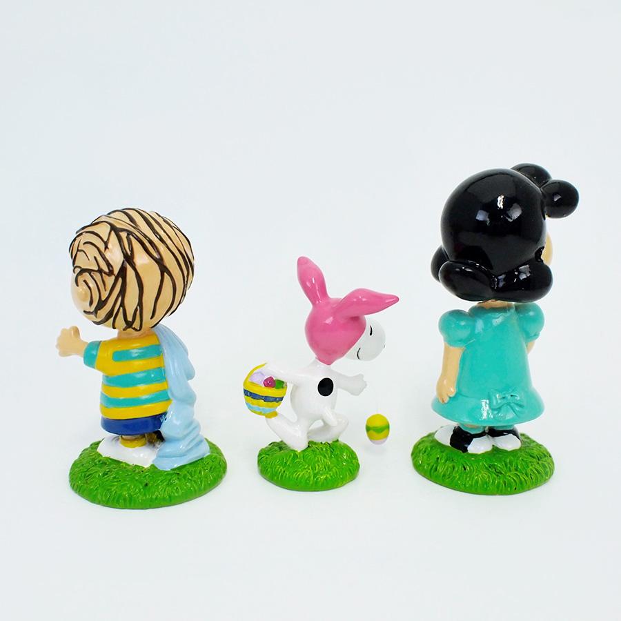 【Department 56】Peanuts フィギュアセット -Egg Hunt-