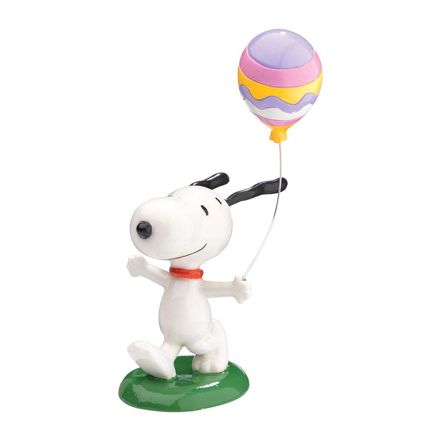 【Department 56】フィギュア スヌーピー -Easter Balloon-
