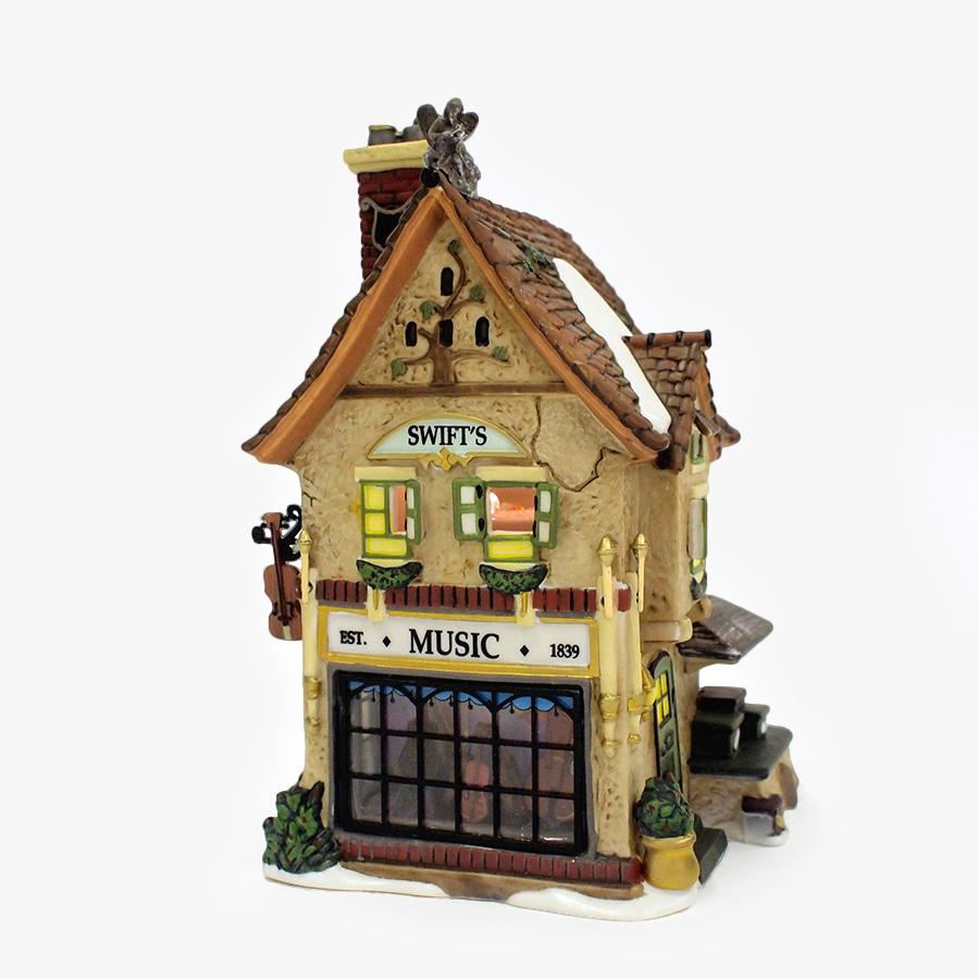【Department 56】ライトハウス ミュージックショップ <クリスマス>