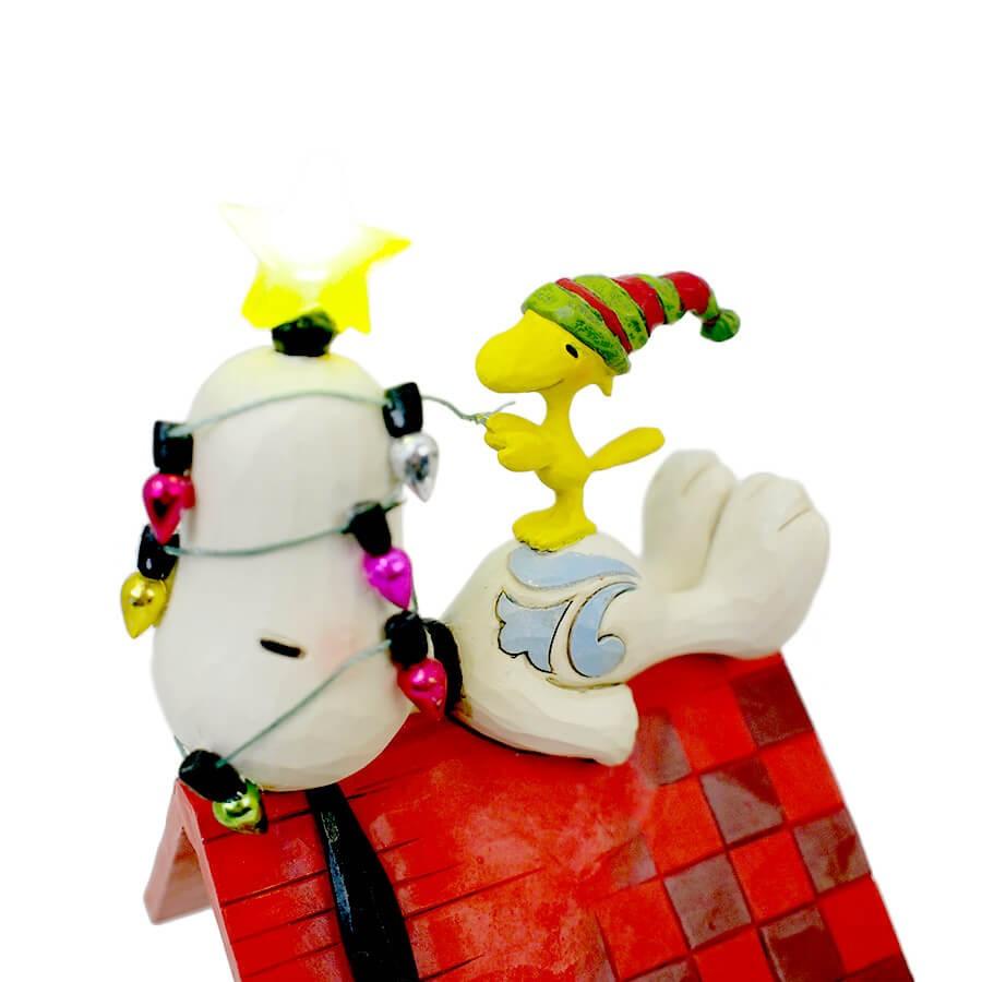 ◇先行予約◇【JIM SHORE】スヌーピー&ウッドストック メリーアンドブライト <クリスマス>