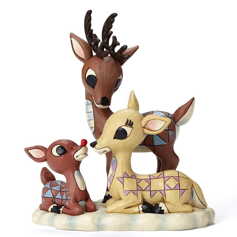 ◇先行予約◇【JIM SHORE】ルドルフ -Donner and Mother- <クリスマス>