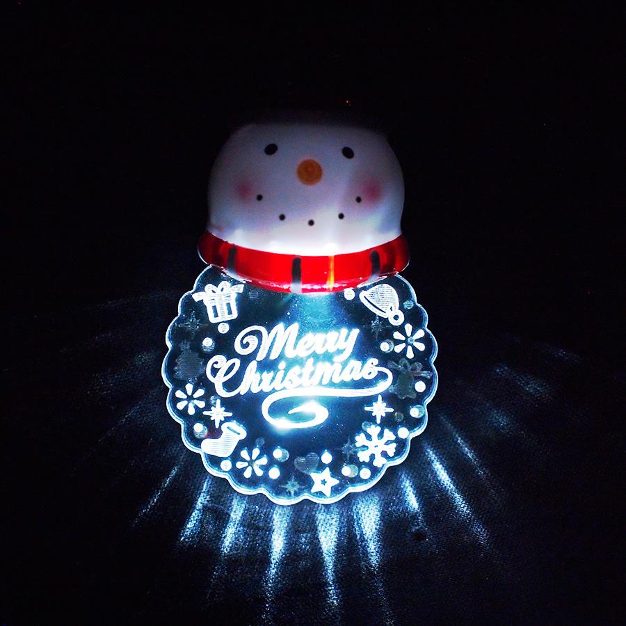 ◇先行予約◇フラッシングピン スノーマン <クリスマス>