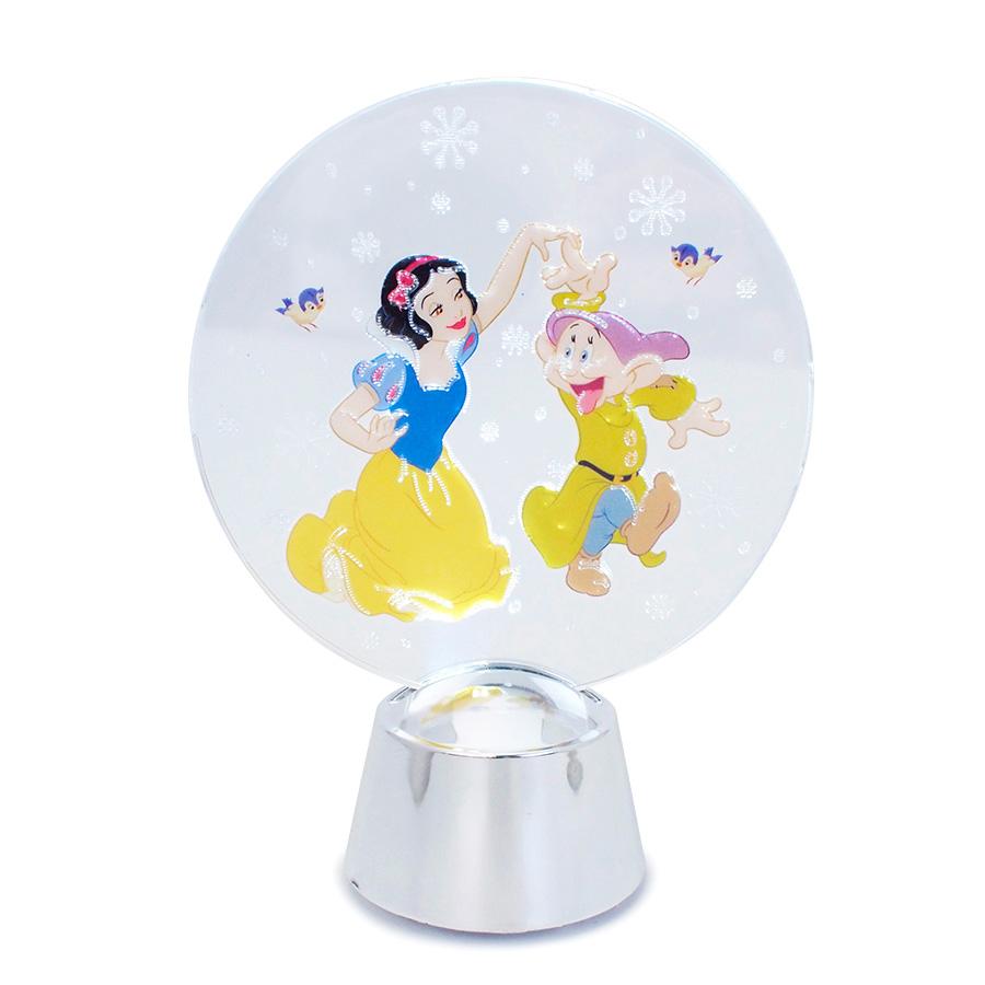 ◇先行予約◇【Department 56】フラッシングライト 白雪姫&ドーピー <クリスマス>