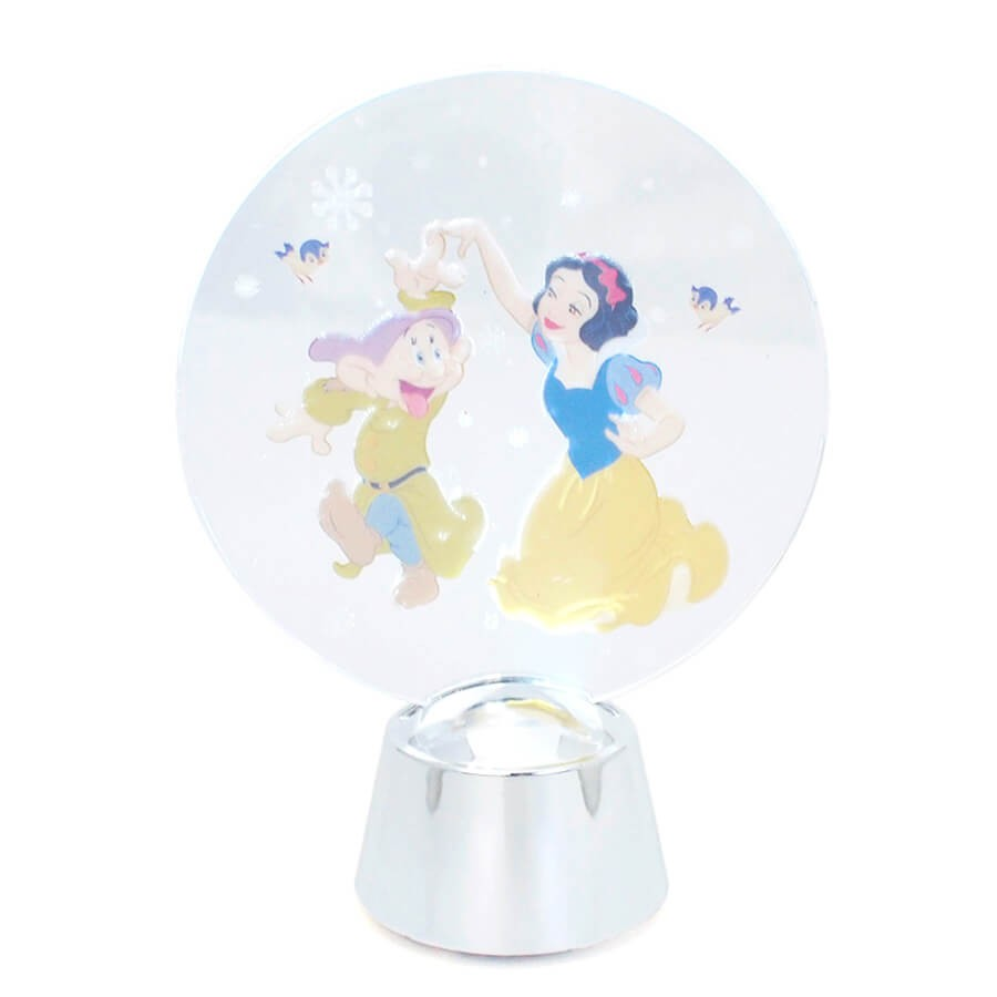 【Department 56】フラッシングライト 白雪姫&ドーピー <クリスマス>