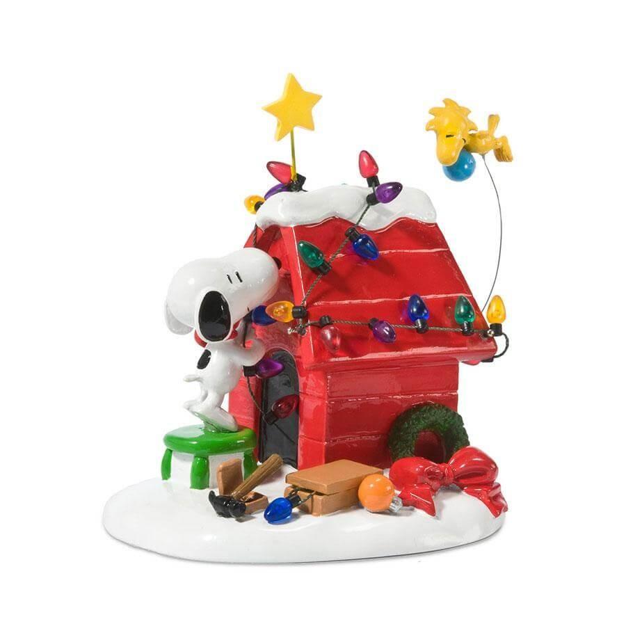 ◇先行予約◇【Department 56】スヌーピー レディ フォー クリスマス <クリスマス>