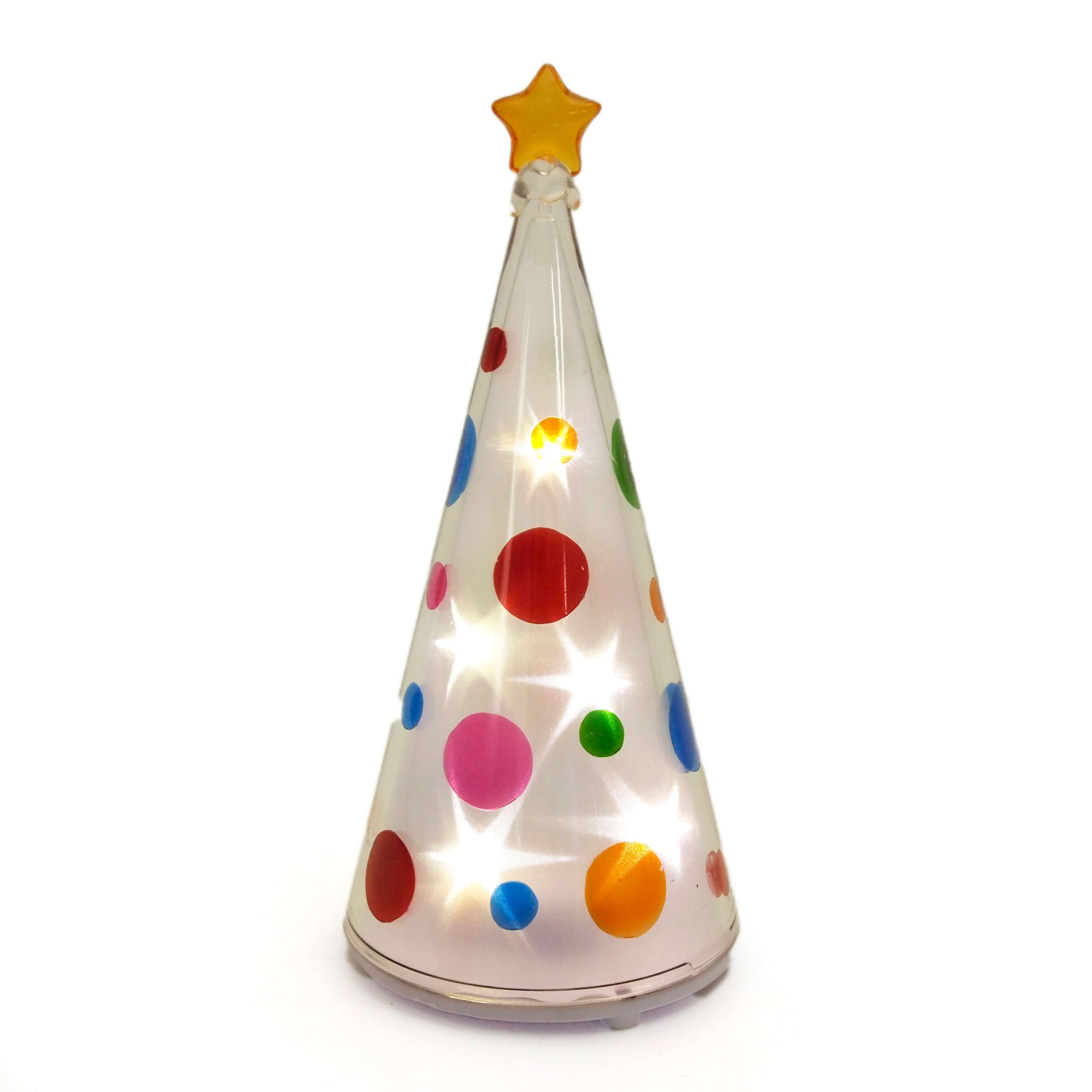 ミニバディー ホログラムドットツリー <クリスマス>