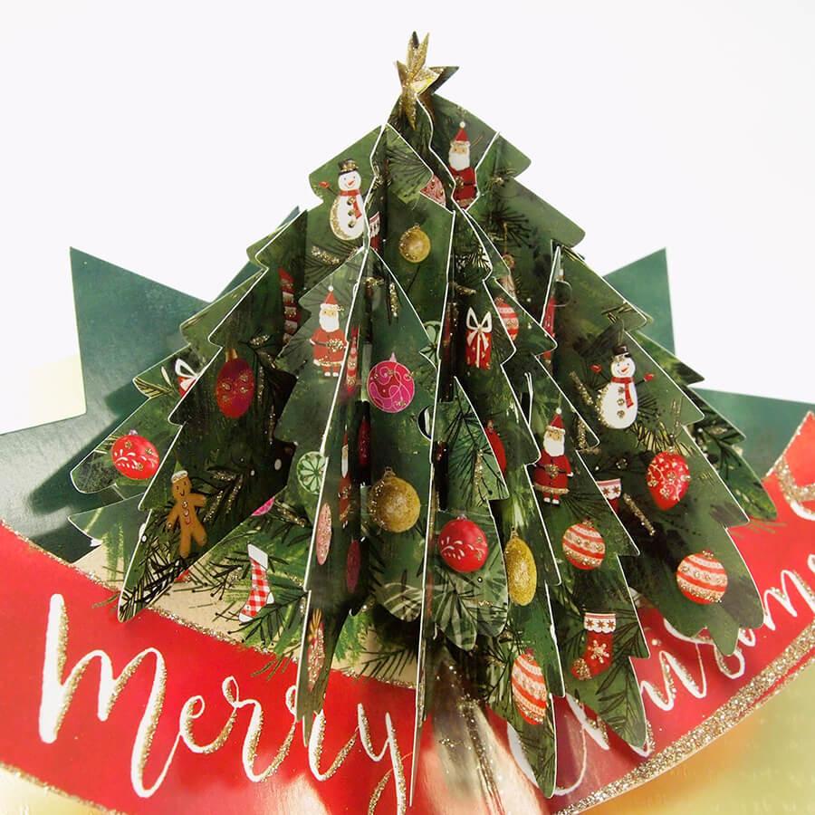 ◇先行予約◇【Second Nature】ポップアップカード ツリー <クリスマス>