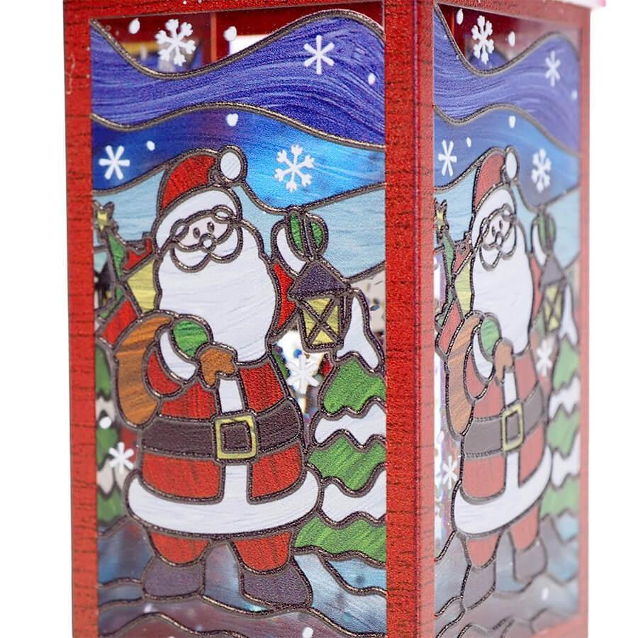 ミニバディー ステンドグラスハウス サンタ <クリスマス>