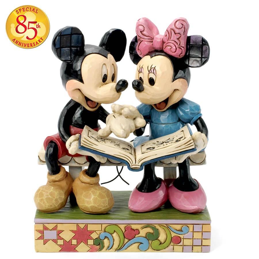 【Disney Traditions】ミッキー&ミニー 85周年アニバーサリーモデル