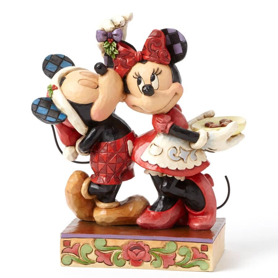 【Disney Traditions】ミッキー&ミニー ヤドリギ