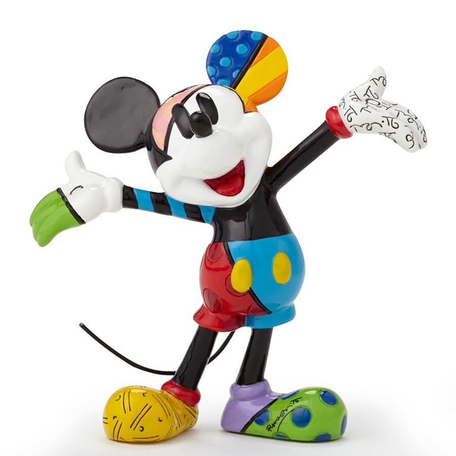 【Disney by Britto】ミッキー レトロ ミニフィギュア