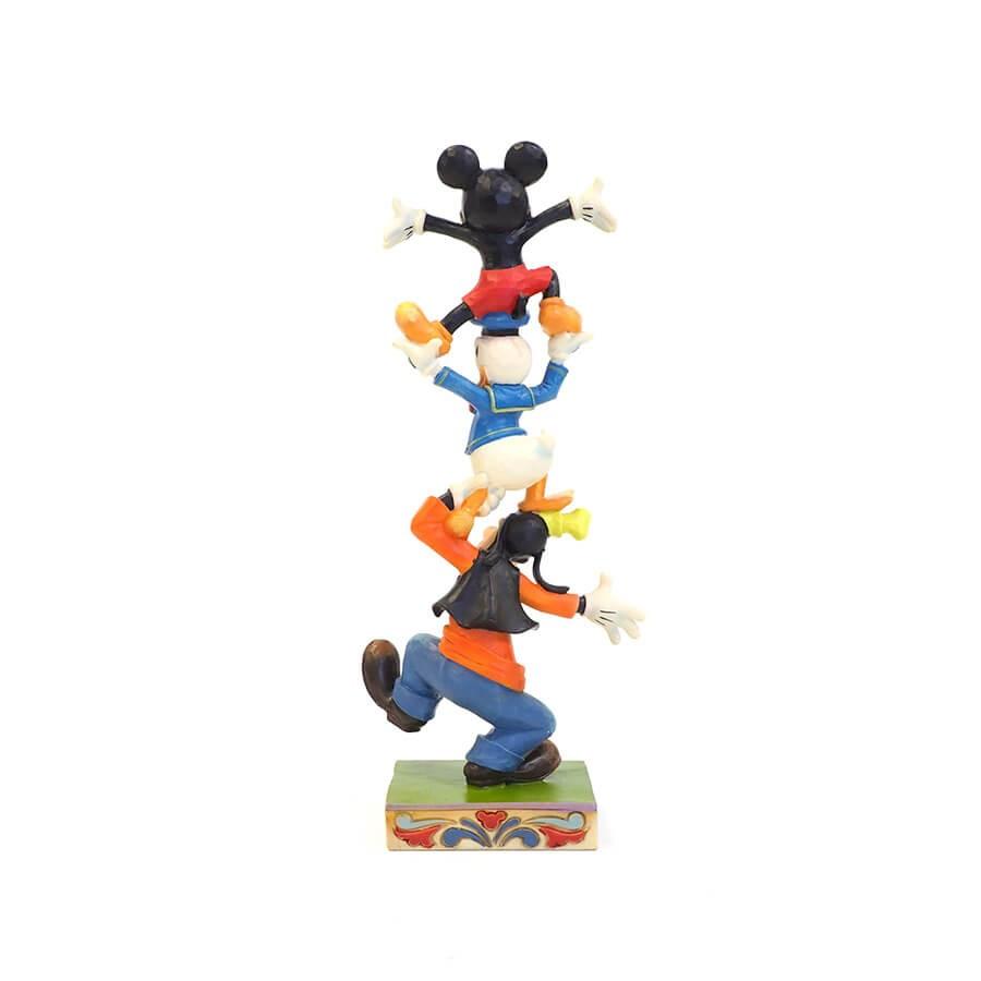 【Disney Traditions】ミッキー&ドナルド&グーフィー バランスタワー