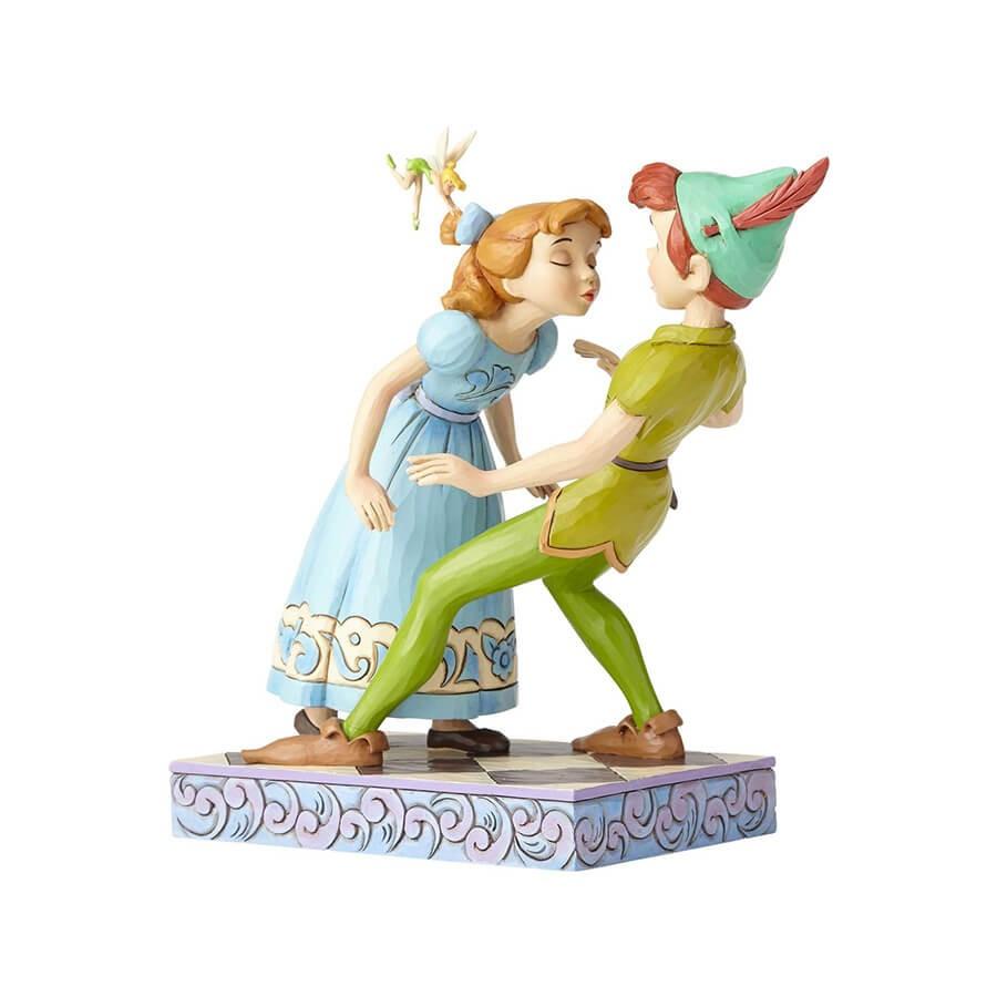 【Disney Traditions】ピーターパン&ウェンディ キス