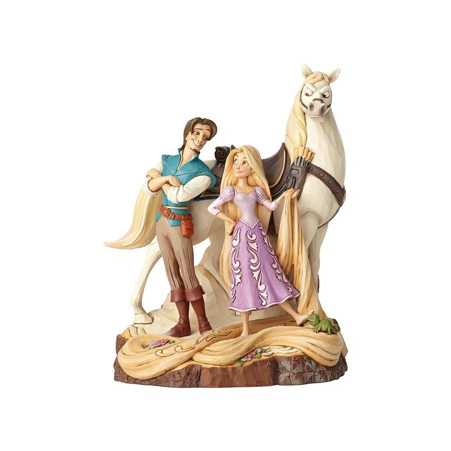【Disney Traditions】ラプンツェル&フリン&マキシマス