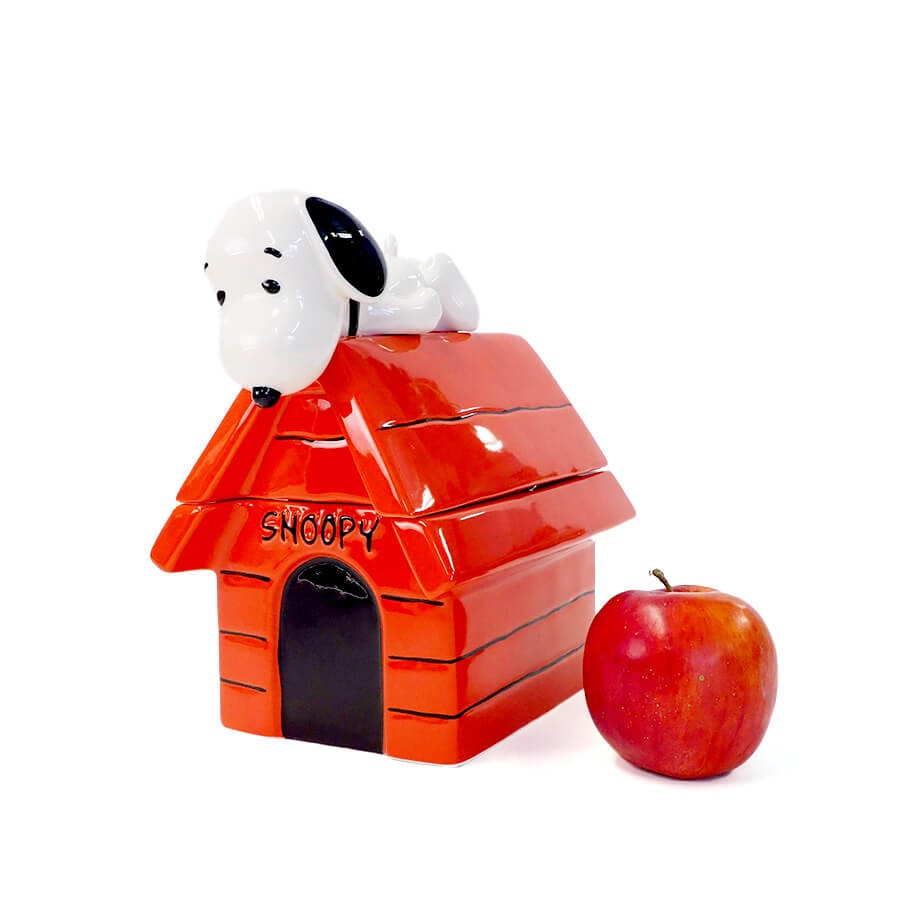 【enesco】クッキージャー スヌーピー ドッグハウス