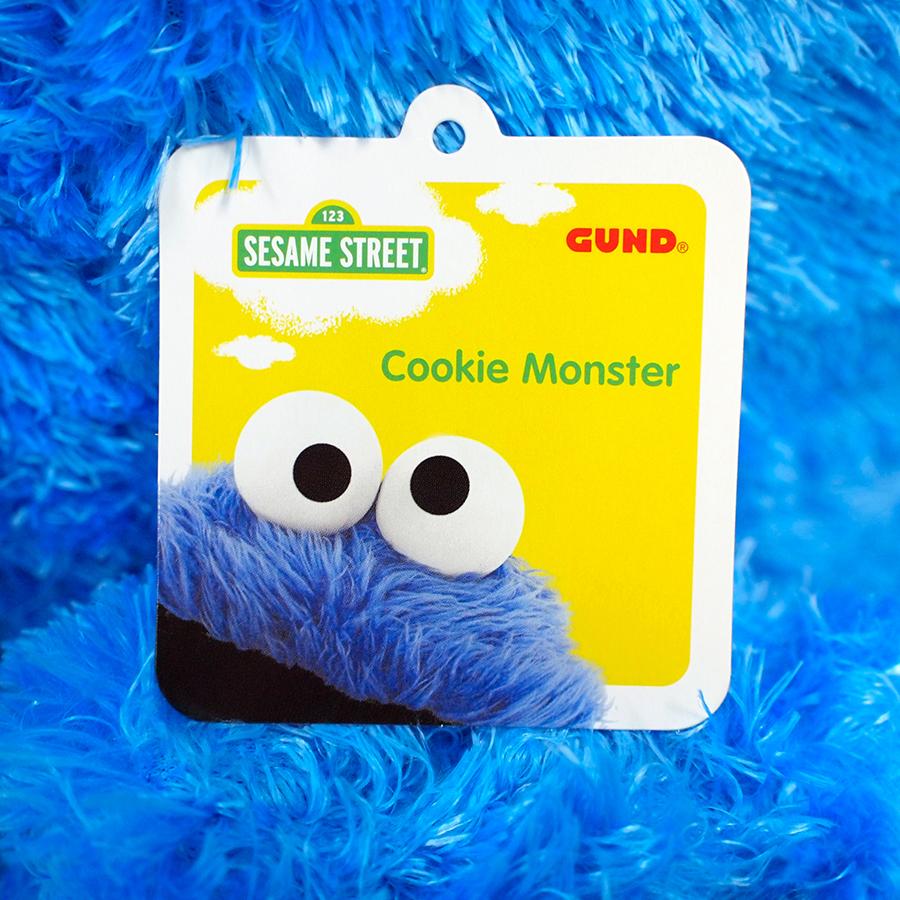 【GUND】セサミストリート -Cookie Monster Jumbo-