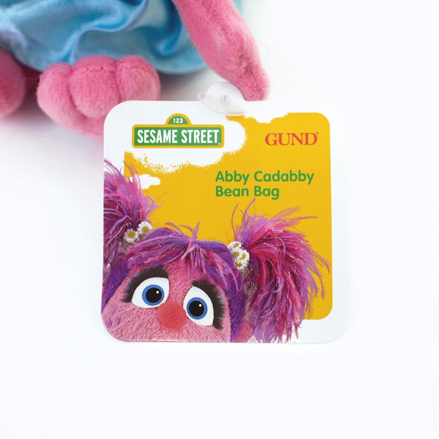 【GUND】セサミストリート ビーンバッグ -Abby-