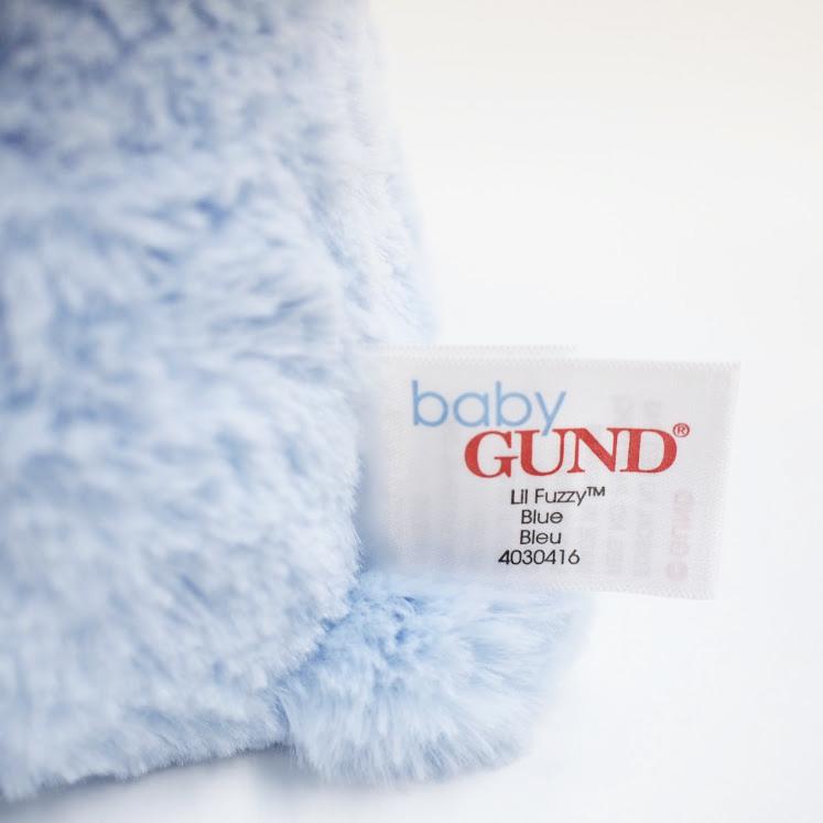 【GUND】リル ファジー ブルーべア