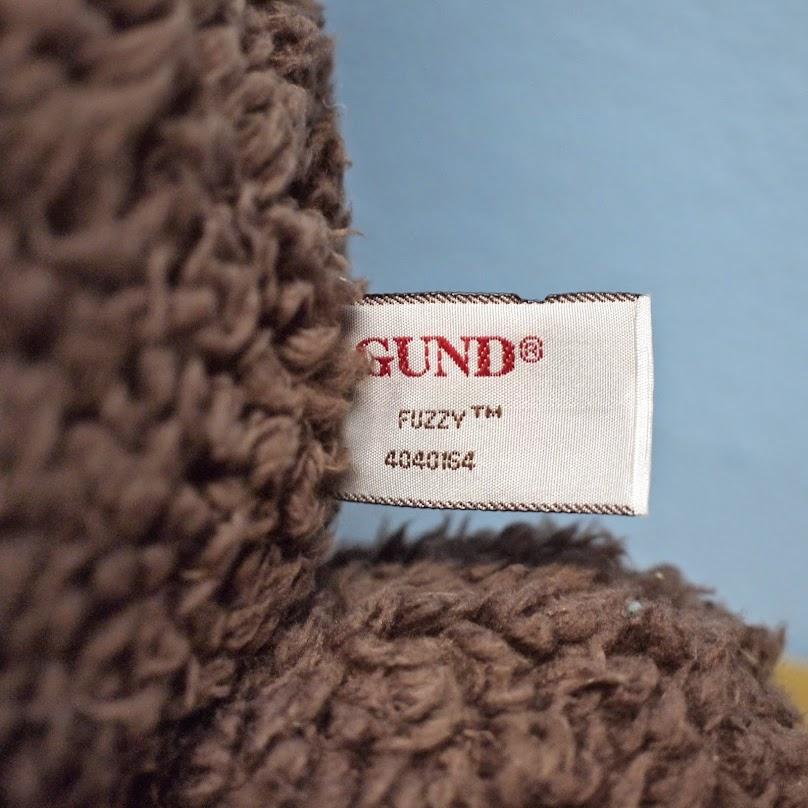 【GUND】ファジー フレンズ チョコべア XL