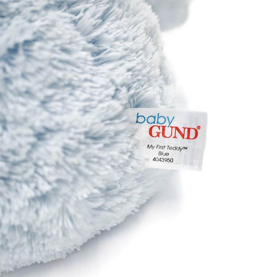 【GUND】マイ 1st テディベア ブルー S