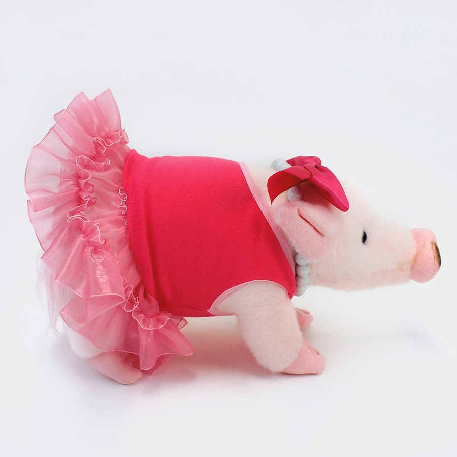 【GUND】プリッシー ピンクドレス