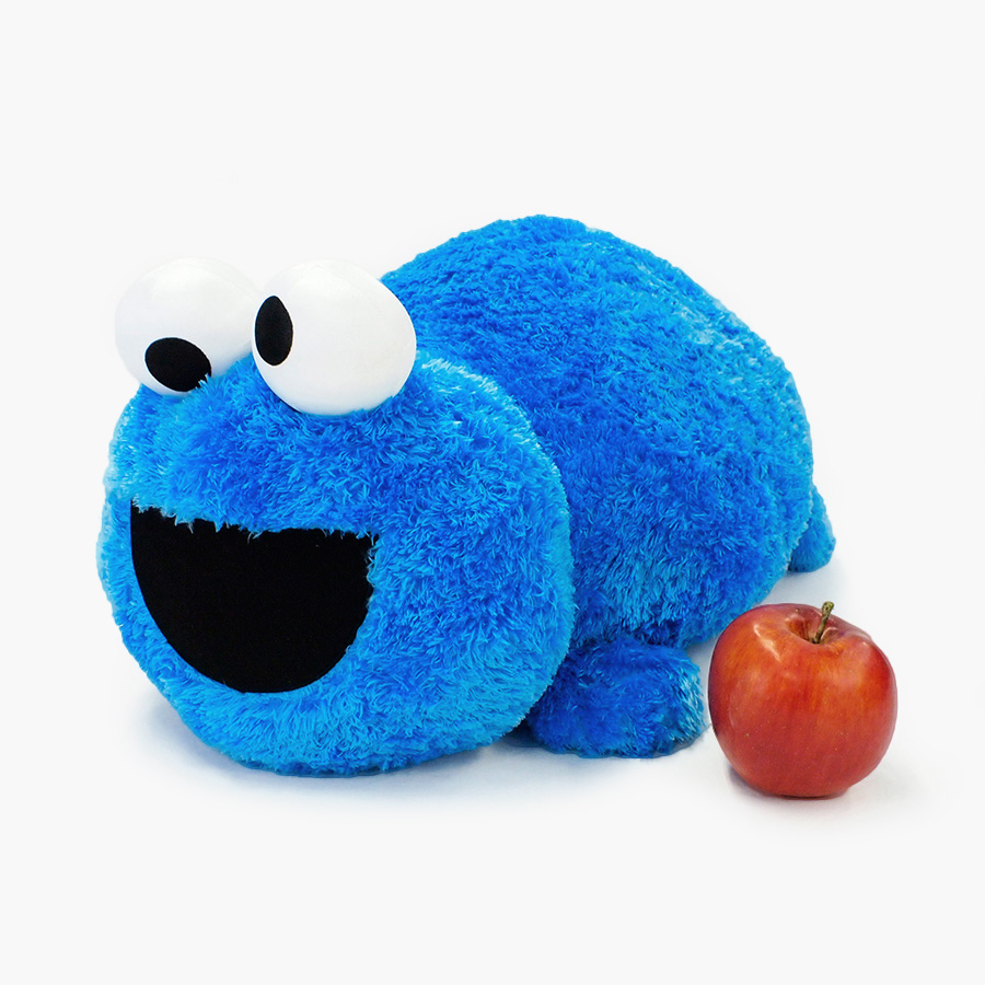 【GUND】セサミストリート -Cookie Monster Snugal Lumps-