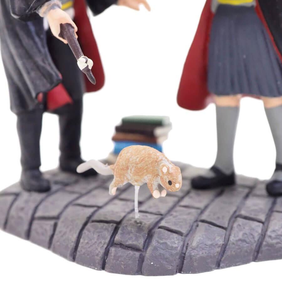 【Department 56】ロン&ハーマイオニー ウィンガーディアム レビオーサ!