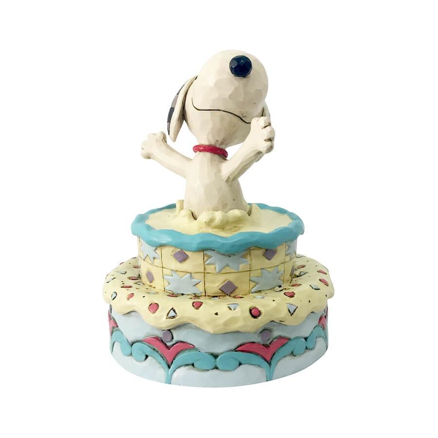 ◇先行予約◇【JIM SHORE】スヌーピー サプライズ バースデーケーキ