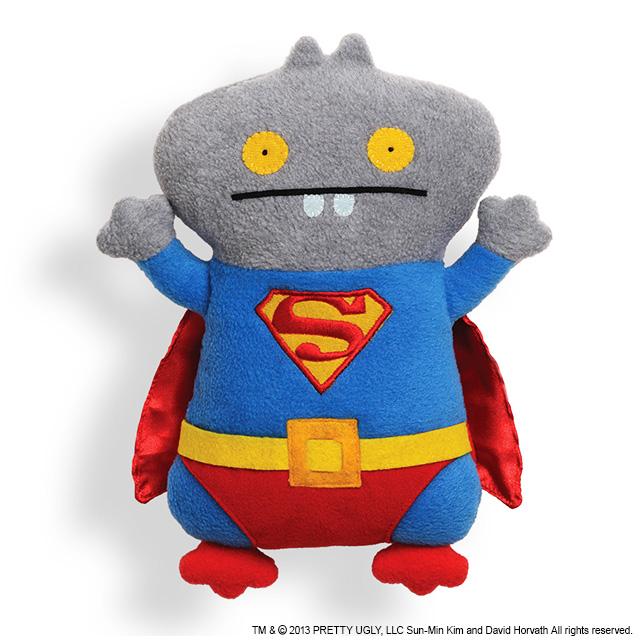 【GUND】UGLYDOLL スーパーマン+バボ