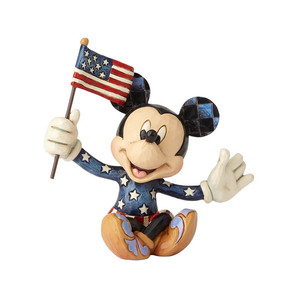 【Disney Traditions】ミッキー アメリカンフラッグ