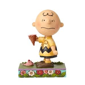 【JIM SHORE】チャーリーブラウン アイスクリーム
