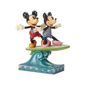 【Disney Traditions】ミッキー&ミニー サーフボード