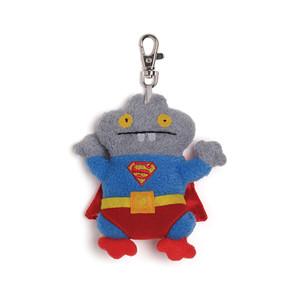 【GUND】UGLYDOLL キーホルダー スーパーマン+バボ