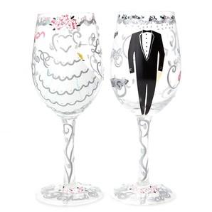 【Lolita】ワイングラス BRIDE&GROOM