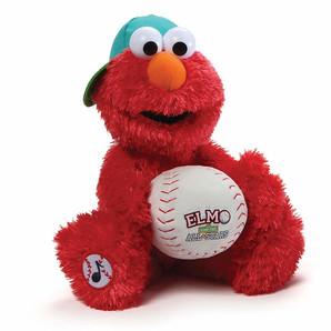 【GUND】セサミストリート -Elmo Baseball Player-