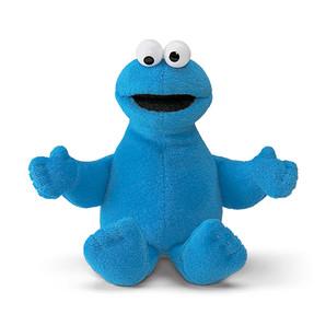 【GUND】セサミストリート ビーンバッグ -Cookie Monster-