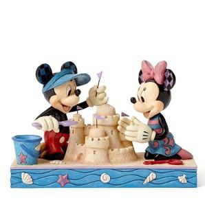 ◇先行予約◇【Disney Traditions】ミッキー&ミニー シーサイド