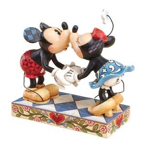 【Disney Traditions】ミッキー&ミニー キス
