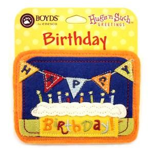 【BOYDS】フェルトメッセージタグ HAPPY BIRTHDAY