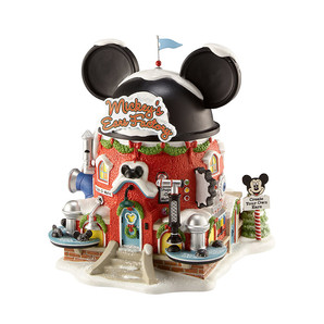 ◇先行予約◇【Department56】ライトハウス -Mickey's Ears Factory- <クリスマス>