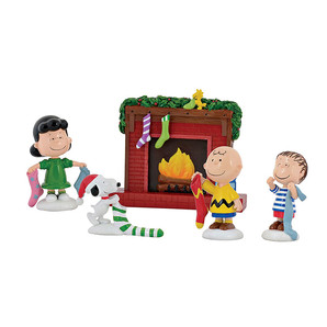 ◇先行予約◇【Department56】Peanuts -Stockings Were Hung Set- <クリスマス>