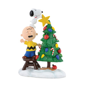 ◇先行予約◇【Department56】Peanuts -Tree Topper Figure- <クリスマス>