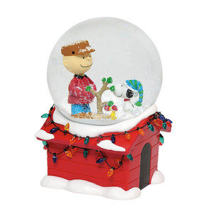 ◇先行予約◇【Department56】Peanuts −Christmas Musical Globe− <クリスマス>