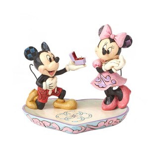 ◇先行予約◇【Disney Traditions】 −Mickey & Minnie Ring Dish−