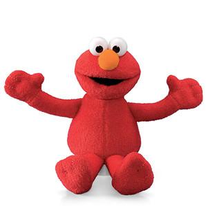 【GUND】セサミストリート ビーンバッグ -Elmo-