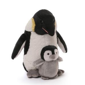 【GUND luxury】ペンギン & ベビー