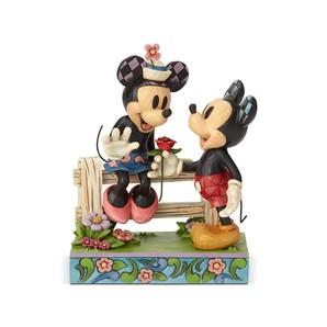 【Disney Traditions】ミッキー&ミニー バイ フェンス