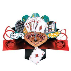 【Second Nature】ポップアップカード カジノ